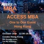 Access MBA Event Announcement with Media Partnership of Freelancing.hk